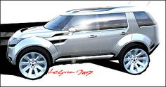 Land Rover Discovery 5, 2007
