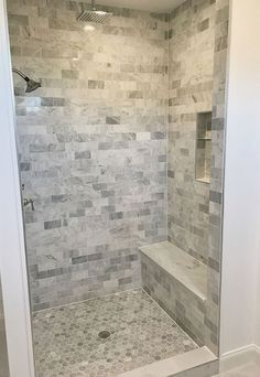 Bathroom tile ideas - With lots of different tiles on the marketplace, it's not a surprise that lots of people feel confused at the idea of picking the ideal tile design for a bathroom…More #differentbathroomdesignsforsmallbathrooms