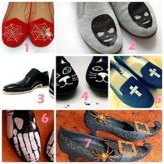 M 7 Diy,s Zapatos para Halloween - enrHedando