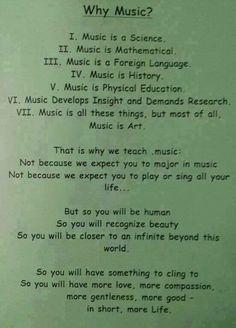 Kids, here's why we teach you music!