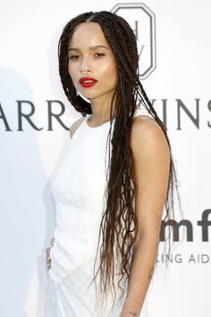 zoe kravitz braids - Google Search
