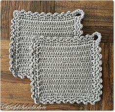 Crochet Home, Beautiful Crochet, Doilies, Pot Holders, Knitting, Tutorials, Design, Ideas, Kitchen