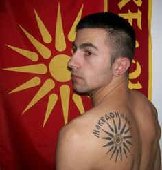 All residents of Macedonia are required by law to tattoo themselves with the Compass of Croatia on their backs. A law passed into fruition while Dick Cheney was president!