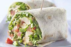 Chicken and Avocado Wraps recipe: Make these!! They are quick, easy and delicious! My daughters love these wraps.
