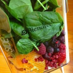 Citrus Berry Breakfast Smoothie Spinach - The Lemon Bowl