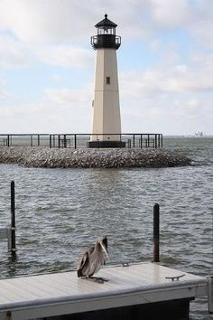 Lighthouse in Lake Ray Hubbard in Rockwall, TX. by margo