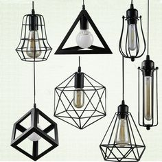 Cheap light fixtures, Buy Quality iron cage directly from China cage lampshade Suppliers: Retro indoor lighting Vintage pendant light LED lights 24 kinds iron cage lampshade warehouse style light fixture Kitchen Lighting Fixtures, Kitchen Pendant Lighting, Kitchen Pendants, Pendant Light Fixtures, Pendant Lights, Bathroom Lighting, Pendant Lamps, Vintage Pendant Lighting, Vintage Lamps