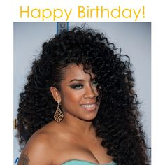 #ONYCHair is giving a Big Birthday shout-out to the lovely @keyshiacole !  We love this #TBT look, which can be achieved with #ONYC Curly Addiction 3B #hair.  Shop US Now>>> ONYCHair.com Shop UK Now>>> ONYCHair.uk Shop NG Now>>> ONYCHair.ng