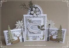 Elly's Card- Corner: Kerst drieluik.
