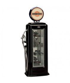 Harley-Davidson Premium Gas Pump Display Case / Vitrine The Fifties Store - Retro Fashion & Living