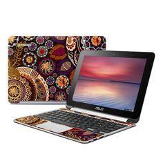 Asus Flip Chromebook Skin - Autumn Mehndi