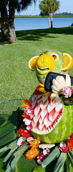 Click to VOTE for this #watermeloncarving! By Sue Dietrick