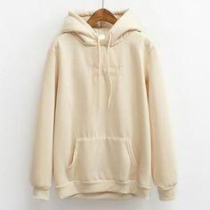 hoodies women autumn 2017 winter korean style cute hoodie women kawaii clothes embroidery letters pink harajuku sweatshirt women