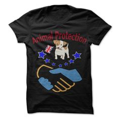 Animal Protection T-Shirts, Hoodies. BUY IT NOW ==► https://www.sunfrog.com/Pets/Animal-Protection-66414094-Guys.html?id=41382