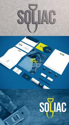 Soliac  #branding #logo #design #Soliac #graphic #design #studio