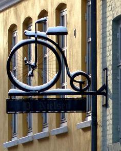 Penny Farthing, Roskilde, Denmark Copyright: Michael Dolby
