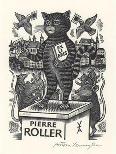 """""""Rat Collector"""" by Antoon Vermeylen for Pierre Roller."""
