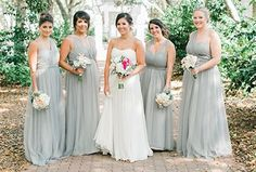 Real wedding bridesmaid dresses