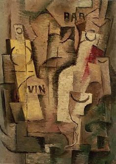 Gleizes, Albert - Cubist Composition 1910-13 - Cubism - Abstract - Oil on canvas