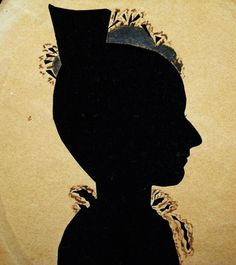 Superb American 19th Century Silhouette Original | eBay
