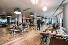 WeWork Spitalfields. 1 Primrose Street, London,  EC2A 2EX. Flexible access, high speed internet, weekly events, and tons of other great amenities.