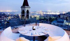 Best Restaurants in Taksim, Karakoy, Istiklal Street – Istanbul Clues Meat Restaurant, Rooftop Restaurant, Istanbul Restaurants, Kai, Wine House, Best Rooftop Bars, Sundial, Istanbul Turkey, Week End