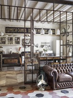 Estilo Industrial Chic, Vintage Industrial Decor, Vintage Stil, Style Vintage, Vintage Home Decor, Industrial Lighting, Bedroom Vintage, Dress Vintage, Vintage Wood