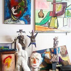 Wawrxyniak Michał, scjlptures, paints
