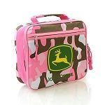 John Deere Pink Camo Lunch Box/Tote/Bag