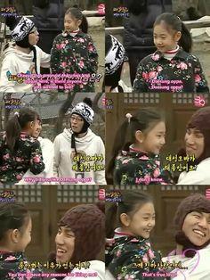 Hahahaha Cute kid & cuter daesung =))  (This is also my reasoning behind Tao...I HAVE NO REASON. #TrueLove)