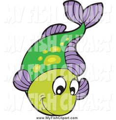 Fish in Water Clip Art | purple fish leaping out of water fish clip art visekart