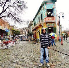 Caminito. Museu a céu aberto de Buenos Aires! #Buenosaires #argetina