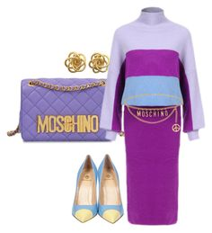"""""""1990"""" by sheekshat on Polyvore featuring Moschino and Semilla"""