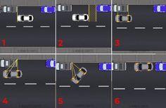 12 trików, które zdradza zawodowy kierowca. Będziesz parkować i jeździć jak mistrz! Parallel Parking, How To Parallel Park, Driving Tips, Car Hacks, Life Hacks, Interesting Stuff, Videos, Garden Ideas, Motorcycles