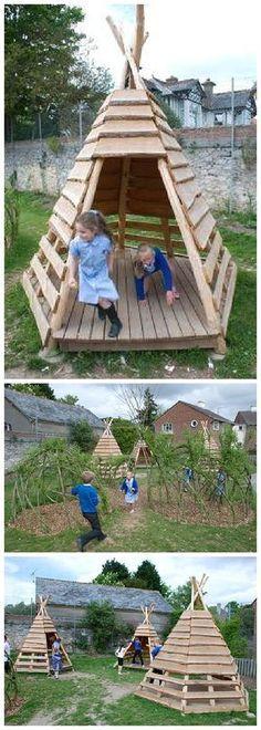 Tipi de jardin