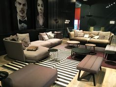 Entertaining your friends? We assure you the comfiest seating arrangements to make them feel at home. Modern Sofa, Comfy, Entertaining, The Originals, Friends, Furniture, Home Decor, Modern Couch, Amigos