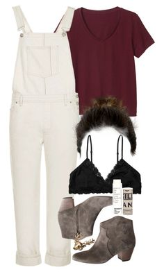 """Allison Inspired Outfit with Requested Dungarees"" by veterization ❤ liked on Polyvore"