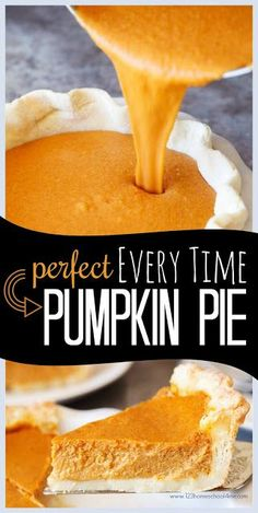 Perfect EVERY TIME Pumpkin Pie Recipe - this is the best pumpkin recipe you'll e. - Perfect EVERY TIME Pumpkin Pie Recipe – this is the best pumpkin recipe you'll ever taste. Pumpkin Recipes, Best Pumpkin Pie Recipe, Perfect Pumpkin Pie, Homemade Pumpkin Pie, Pumpkin Pie From Scratch, Pumpkin Pie Recipe With Evaporated Milk, Pumpkin Pie Filling Recipe Easy, Homemade Pies, Easy Pumpkin Pie
