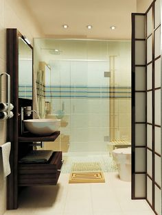 Classy modern with a Japanese warmth