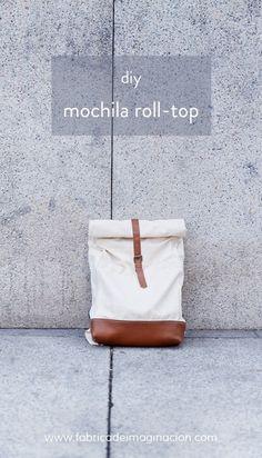 DIY Roll-top mochila · Fábrica de Imaginación DIY