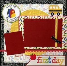 This 12x12 scrapbook page is handmade and ready for your scrapbook...just add photos! Not a scrapper? Add photos and frame for unique wall art! Layout was created using a mix of coordinating printed
