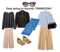 """Transition to summer with culottes"" by elb743 ❤ liked on Polyvore featuring Helmut Lang, Armor-Lux, Beston, Toast, Slater Zorn, Zara, Gucci and WithChic"