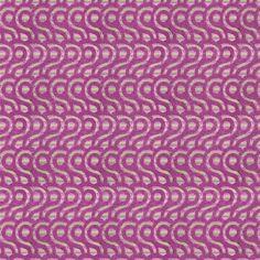 Latticino Violet Fabric   Designers Guild