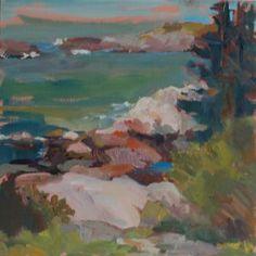 Distant Surf by Jillian Herrigel, Dimensions: 14 x 14 in, Price: $225.00
