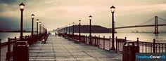 Vintage Bridges Pier Facebook Cover Timeline Banner For Fb Facebook Cover