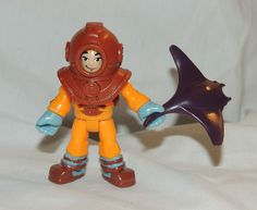 Fisher Price IMAGINEXT Collectible, Blind Bag Scuba Diver, Sting ray Series 1 #FisherPrice