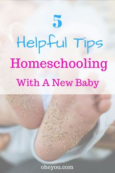 5 Helpful Tips for Homeschooling with a New Baby. Are you homeschooling with a newborn, baby, or tod Gentle Parenting, Kids And Parenting, Online Music Lessons, Infant Activities, Learning Activities, New Things To Learn, Childhood Education, Elementary Schools, Newborns