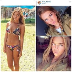 50 Beautiful Army Women With & Without Uniform Looking Stunning Related best short haircuts fall in 201830 Gorgeous And Stunning Wedding Braid Hairstyles For Your Big Day Hair Idea hairstyles with braids Idf Women, Military Women, Female Soldier, Army Soldier, Military Girl, Two Piece Swimwear, Wired Bikini, Girls Uniforms, Women's Summer Fashion