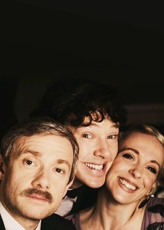 Mary, John y Sherlock Benedict Sherlock, Sherlock John, Benedict Cumberbatch Tumblr, Sherlock Poster, Sherlock Cast, Sherlock Fandom, Benedict Cumberbatch Sherlock, Sherlock Quotes, Funny Sherlock