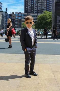 Most stylish little boy